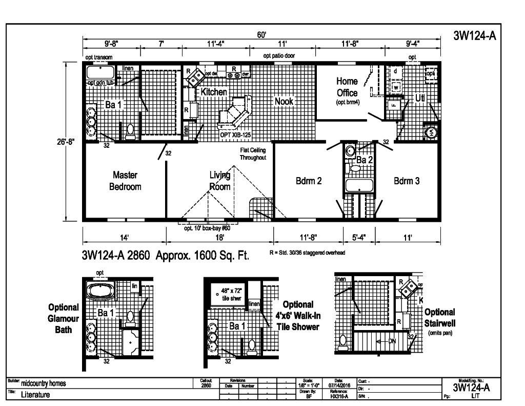 Floor Plans 1500 1700 Sq Ft