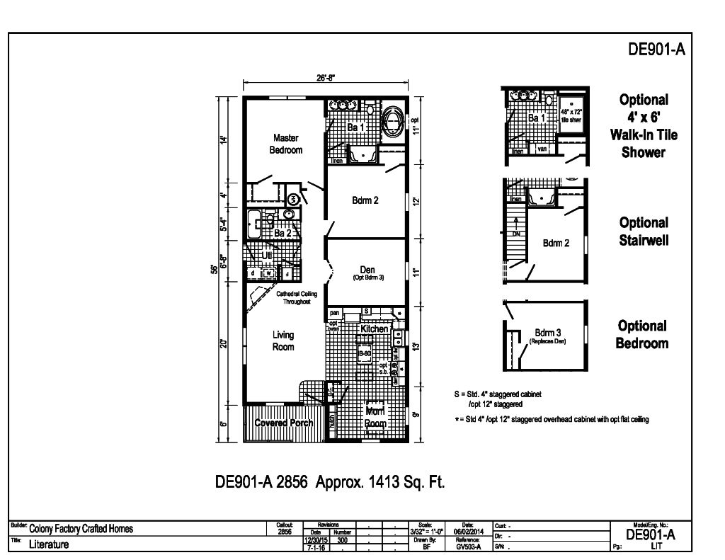 Floor plans 900 1500 sq ft for 1500 sq ft