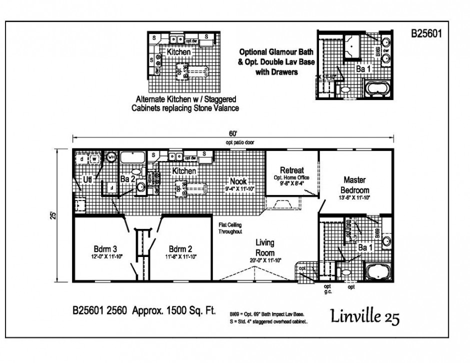 Custom built homes of the carolinas floor plans 1500 House plans less than 1500 square feet