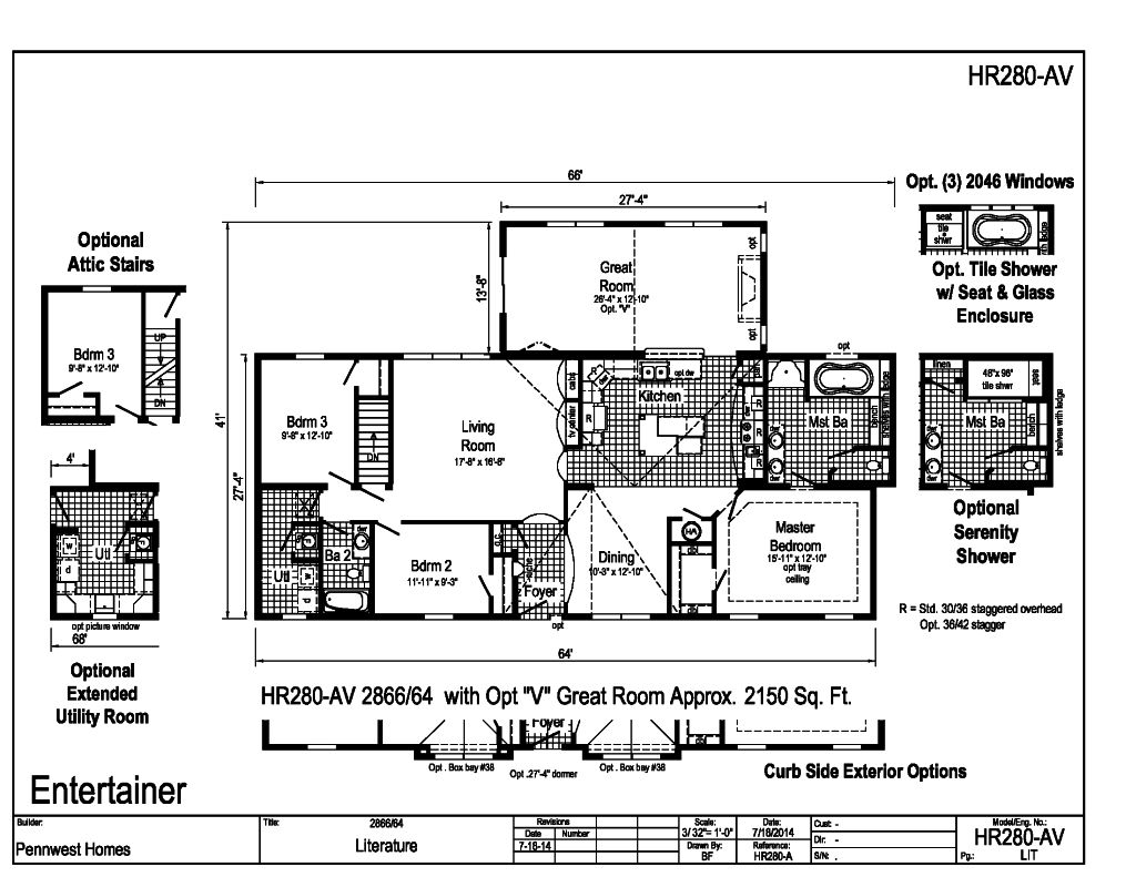 2000 sq ft hr280av House plans less than 1500 square feet