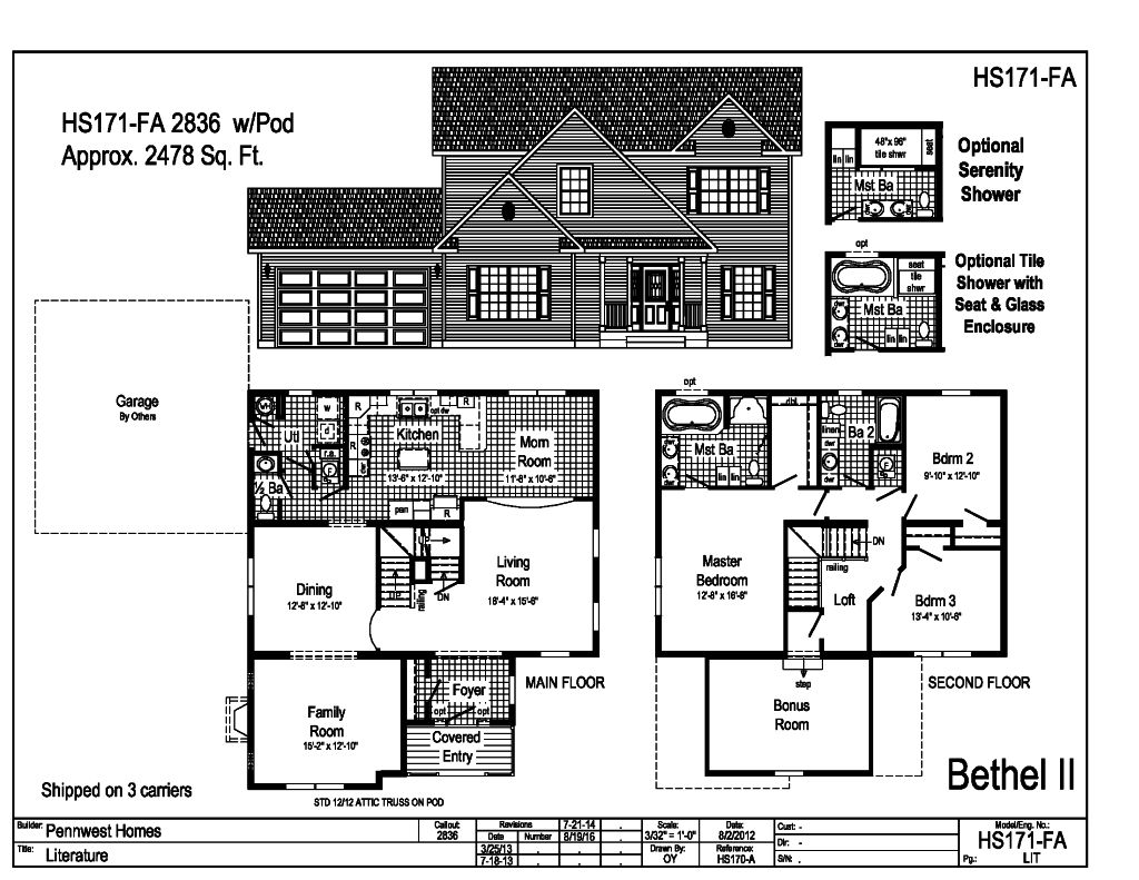 2000 sq ft hs171fa for 2000 sq ft home plans